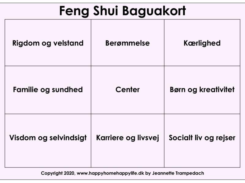Happy Home Happy Life-Feng-Shui-Baguakort-E-guide økonomisk flow forside rosa