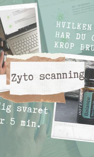 Zyto scanning | Få svar på hvilke olier du og din krop har brug for